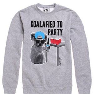 Riot Society Koalafied to Party Sweatshirt
